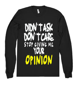 didnt ask dont care shirt - Shirtoopia
