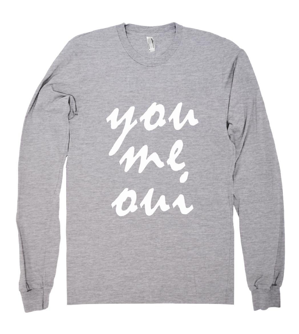 you me  oui shirt - Shirtoopia