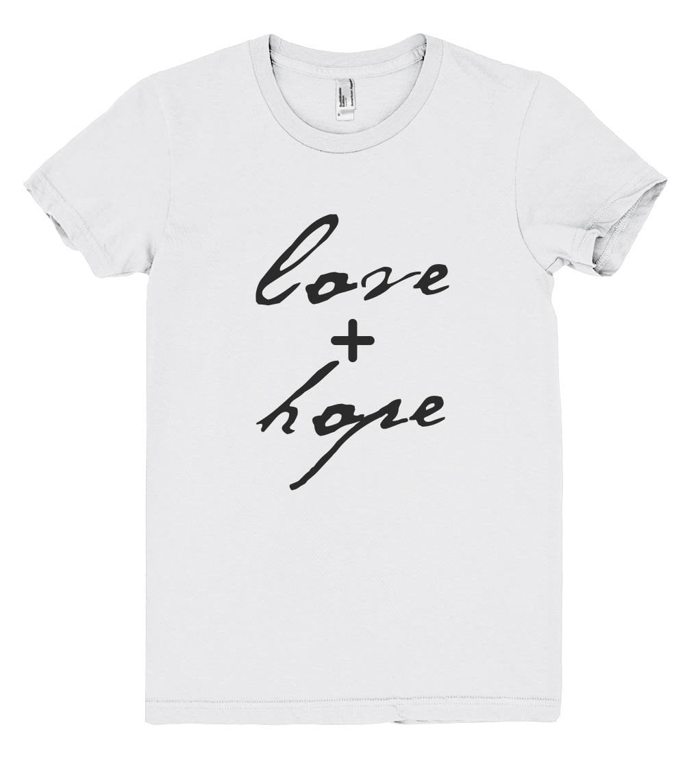 love+hope tshirt - Shirtoopia