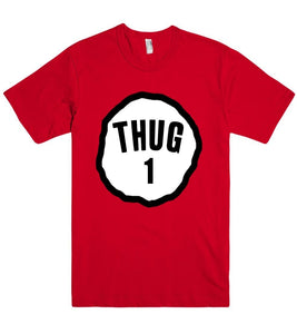 thug one t shirt - Shirtoopia