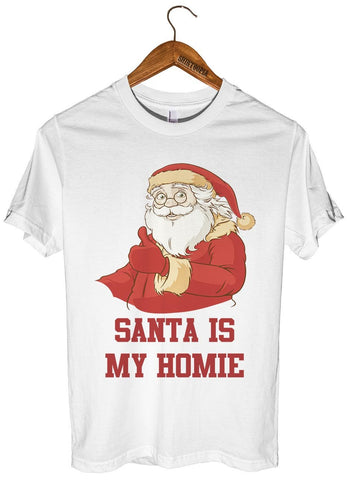 Santa is my homie t-shirt - Shirtoopia