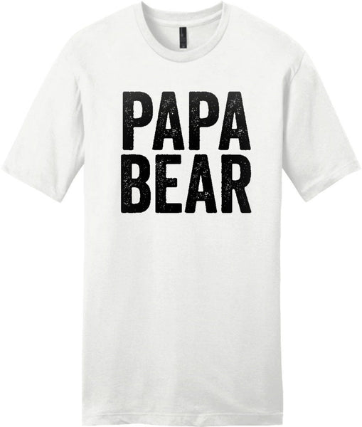papa bear t-shirt - Shirtoopia