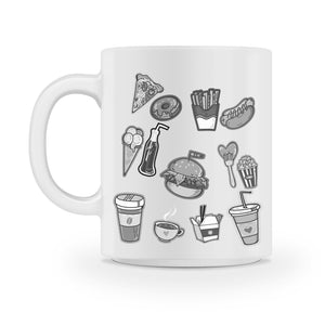 fast food coffee mug - Shirtoopia