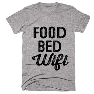 food bed Wifi t-shirt - Shirtoopia