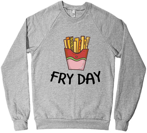 FRY DAY junk food sweatshirt fleece