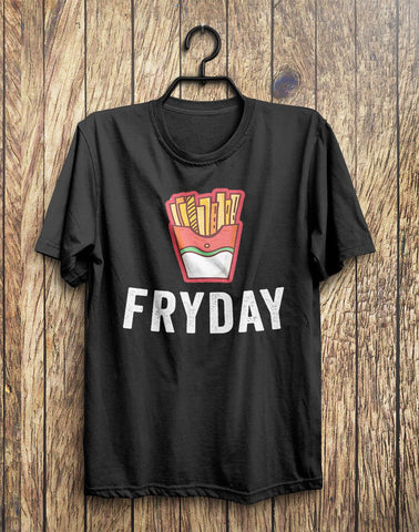 FRYDAY Junk Food T-Shirt  - 1