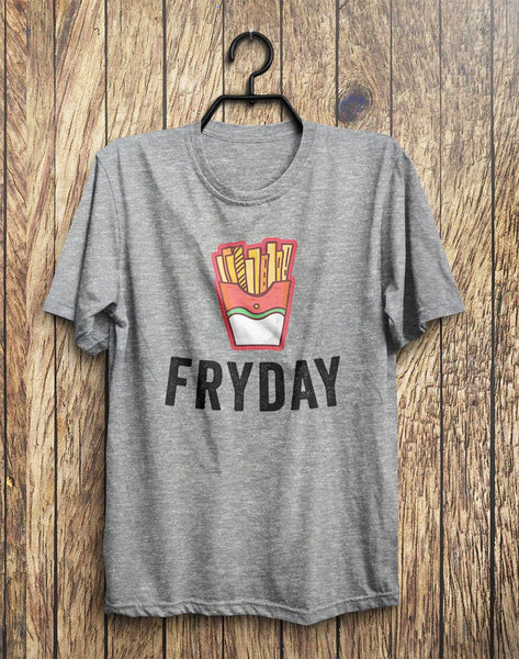 FRYDAY Junk Food T-Shirt - Shirtoopia