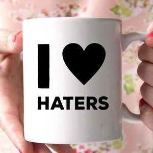 i love hatters coffee mug - Shirtoopia