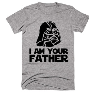 i am your father starwars darth vader head  t-shirt - Shirtoopia