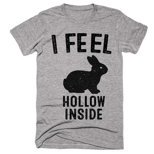 i feel hollow inside easter rabbit t-shirt - Shirtoopia