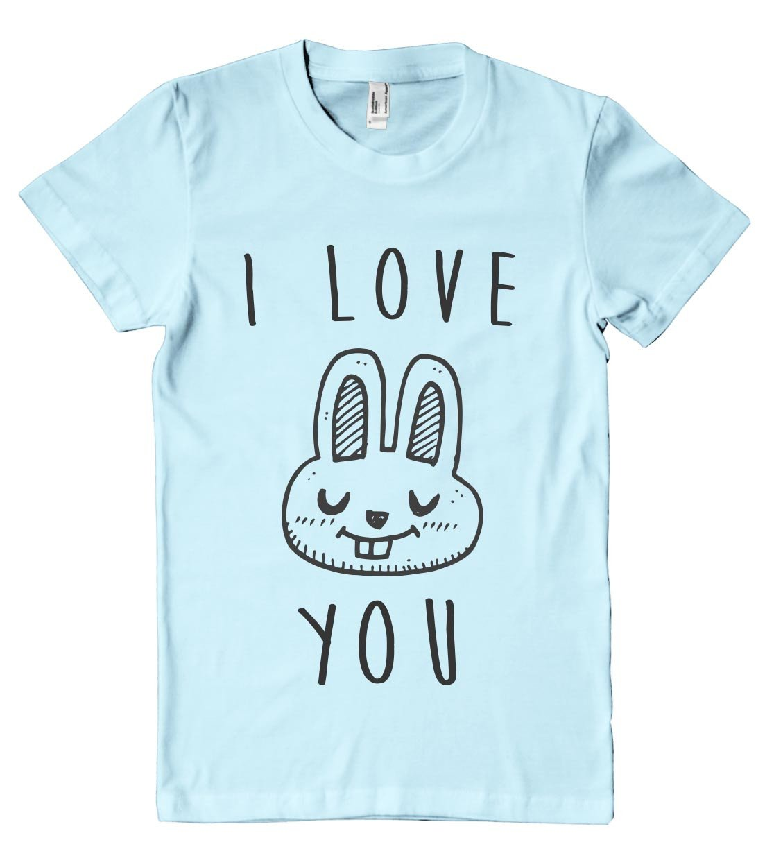 i love you bunny t shirt - Shirtoopia