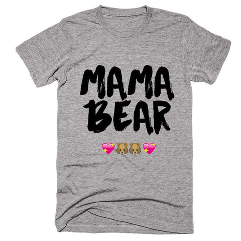 mama bear mother emoticons t-shirt - Shirtoopia