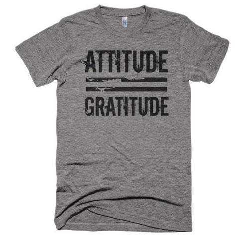 attitude equals gratitude t-shirt  - 1