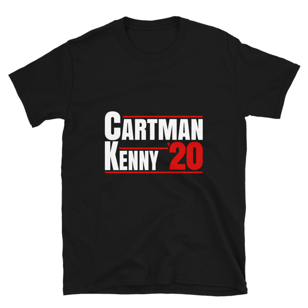Cartman  Kenny  South Park Tshirt
