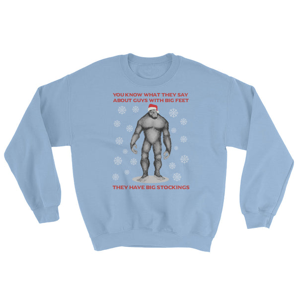 Bigfoot Ugly Christmas Sweater