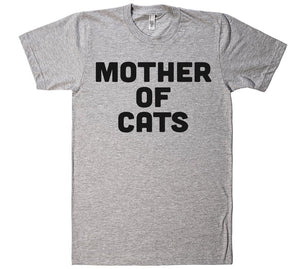 Mother of cats t-shirt - Shirtoopia