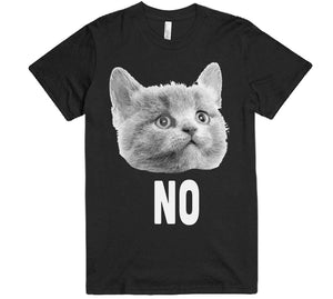 no cat face t-shirt - Shirtoopia