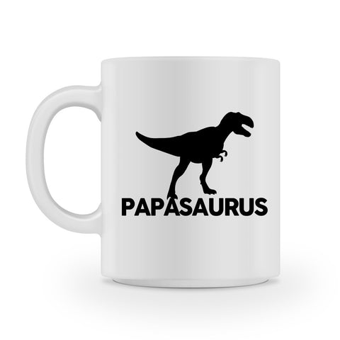 papasaurus father dad mug  - 1