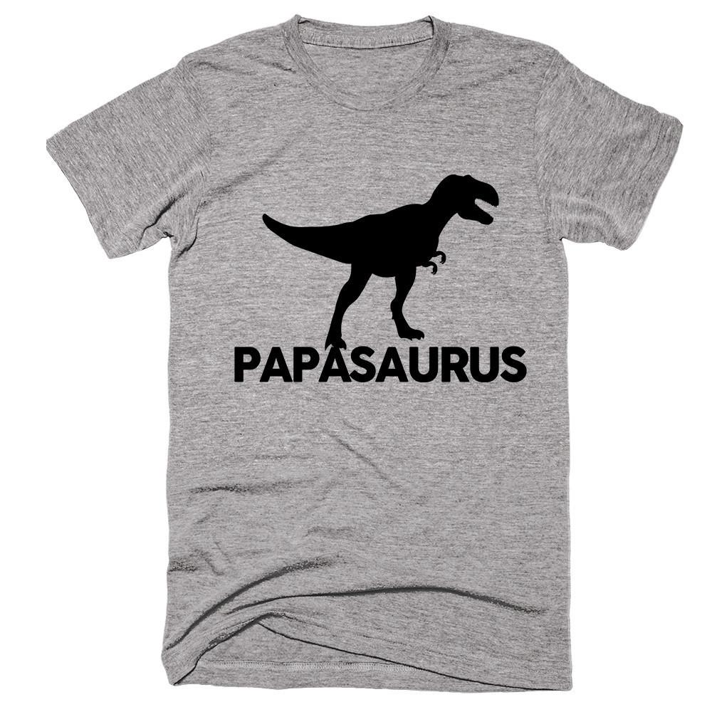 papasaurus t-shirt - Shirtoopia