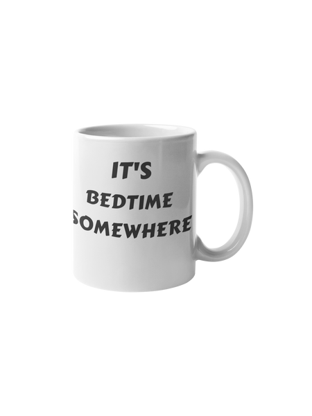 Bedtime Somewhere Mug