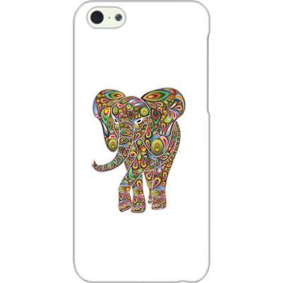Psychedelic Elephant iPhone 5 Cover - Shirtoopia