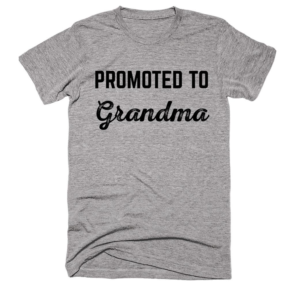 Promoted To Grandma T-Shirt - Shirtoopia