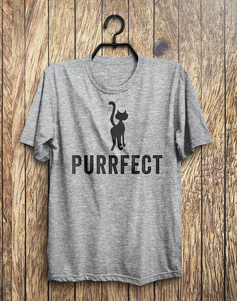 PURRFECT Cat T-Shirt - Shirtoopia