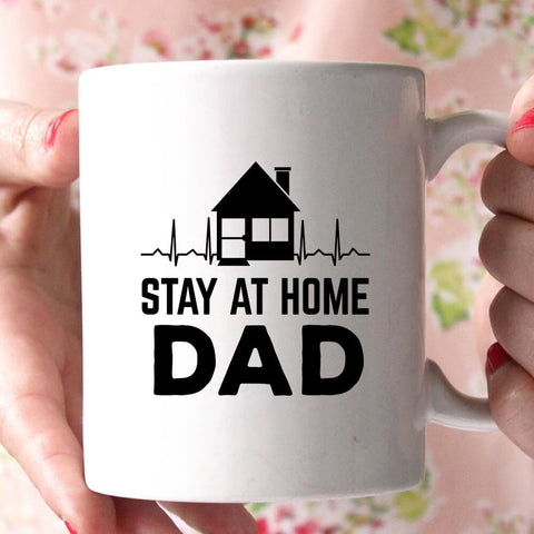 stay at home dad coffee mug - Shirtoopia