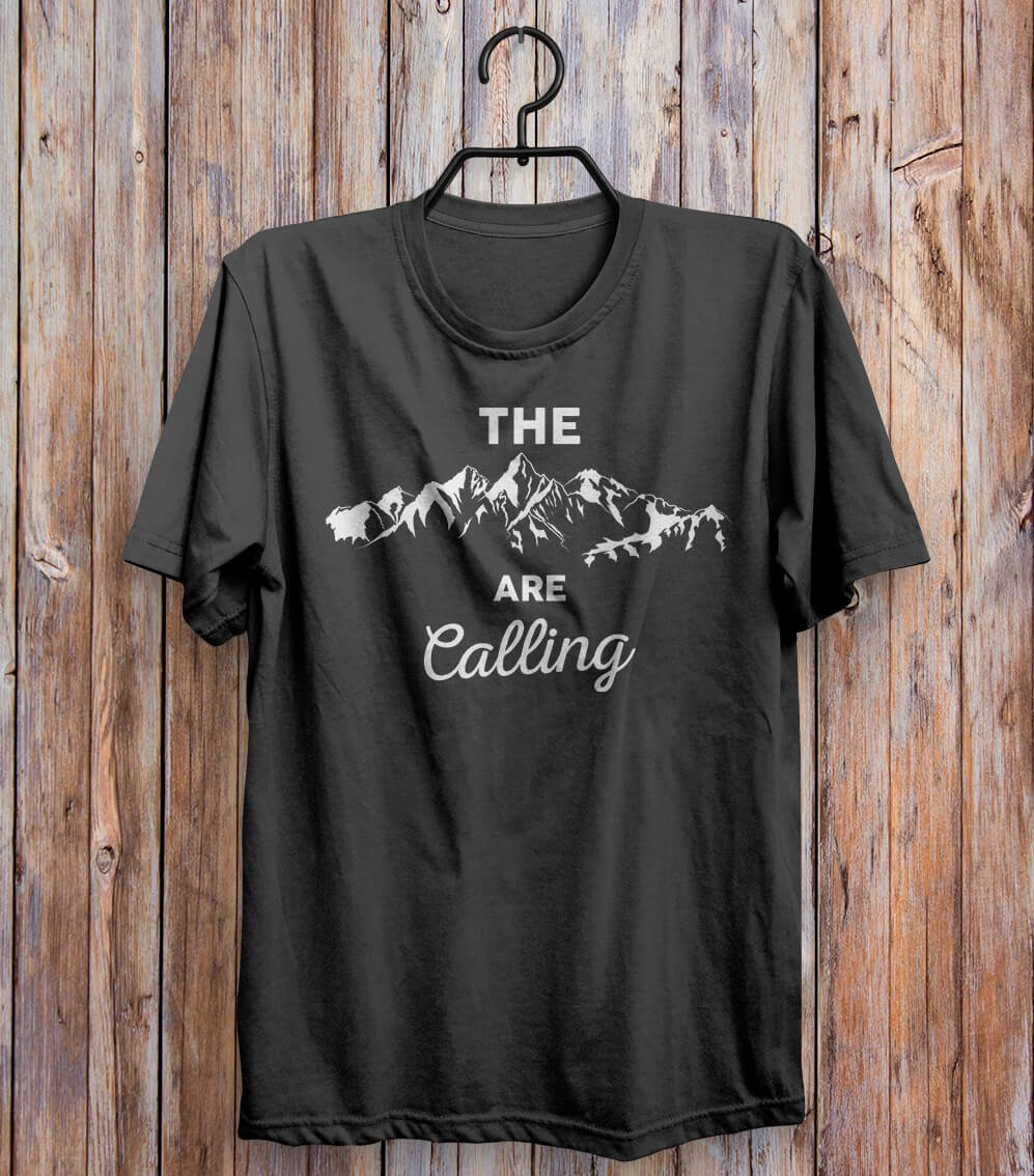The Are Calling T-shirt Black