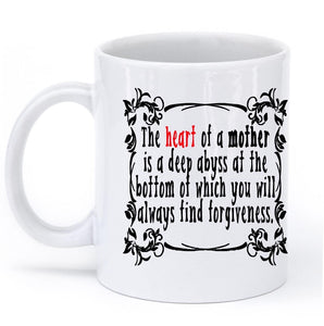 the heart of a mother mug - Shirtoopia