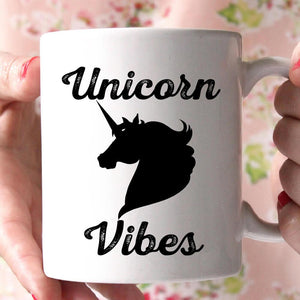 unicorn vibers coffee mug - Shirtoopia