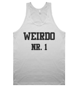 weirdo nr. 1 tank top shirt - Shirtoopia