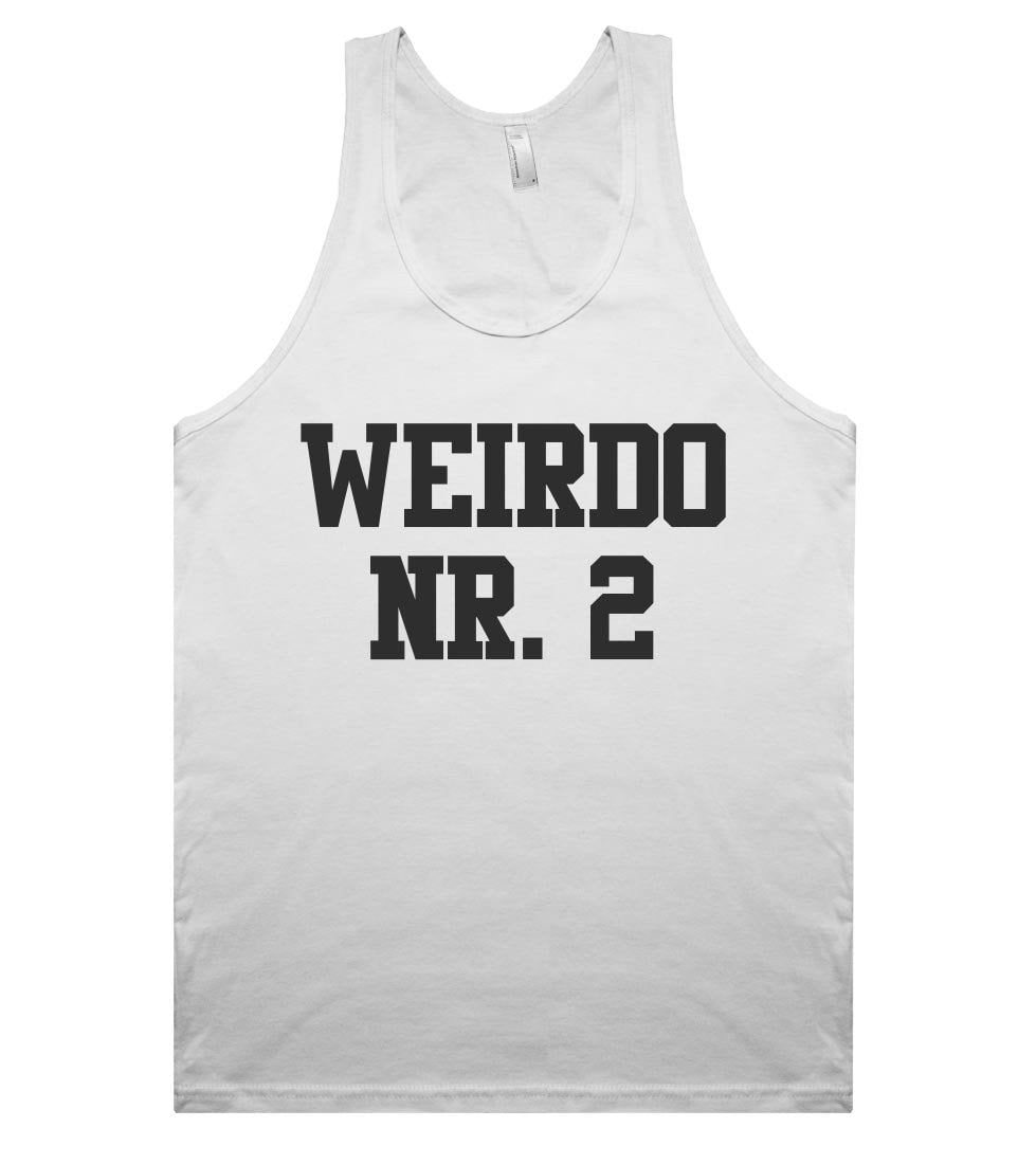 weirdo nr. 2 tank top shirt - Shirtoopia