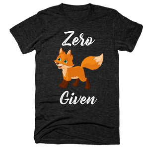 Zero Fox Given Black T-Shirt