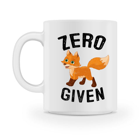 zero fox given coffee mug - Shirtoopia