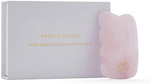 Angela Caglia ROSE QUARTZ GUA SHA LIFTING TOOL