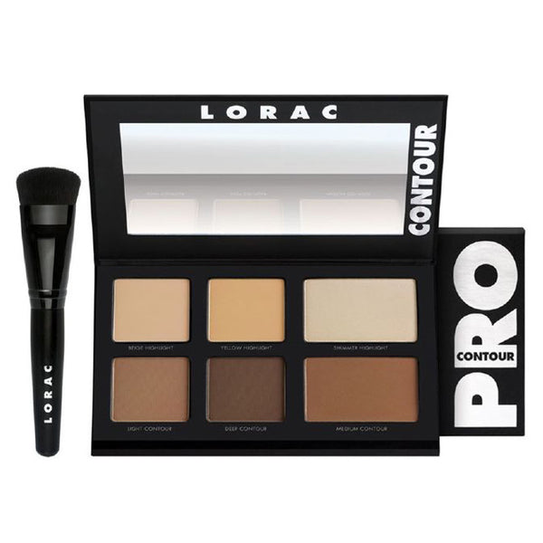 LORAC PRO Contour Palette and Contour Brush