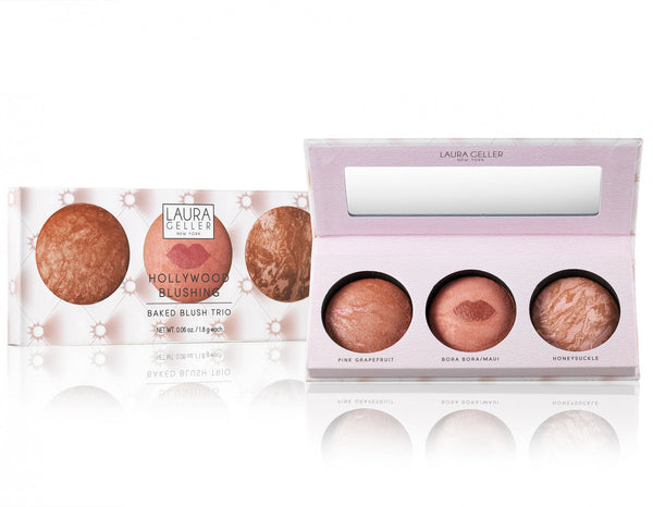 Laura Geller Hollywood Blushing Baked Blush Trio (Limited Edition)