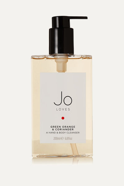 Jo Loves Green Orange & Coriander Hand & Body Cleanser 200ml