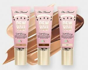 Too Faced Tutti Frutti Dew You Full-Coverage Fresh Glow Foundation