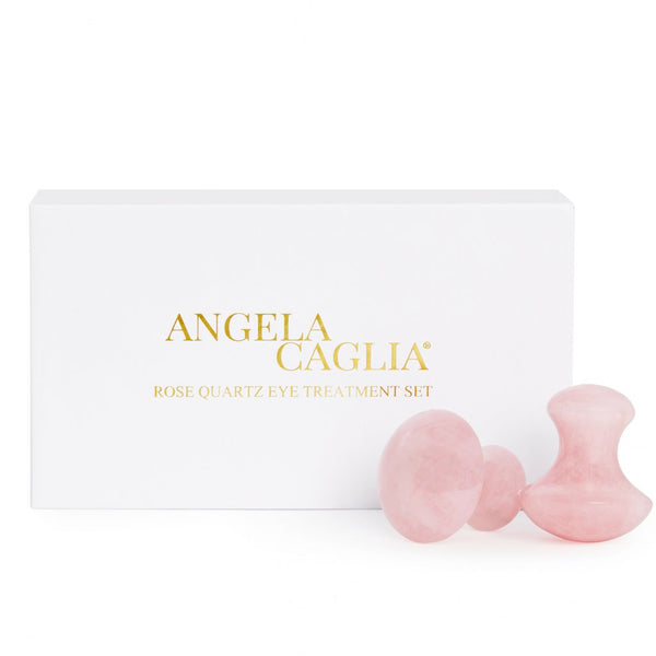 Angela Caglia Rose Quartz Eye Treatment Set