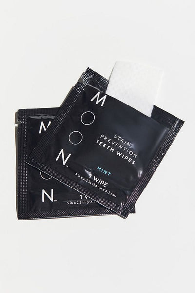 Moon Stain Prevention Teeth Wipes