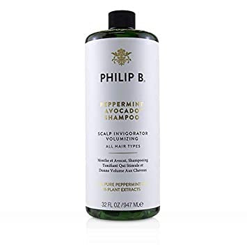 Philip B. Peppermint Avocado Scalp Invigorator Volumizing Shampoo
