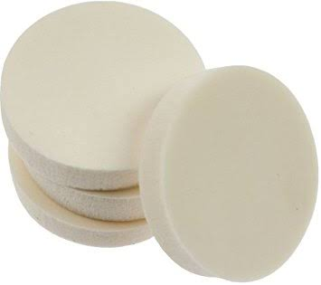 Winmix Cosmetics White Round Cosmetic Sponges
