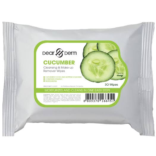 Dear Derm Cleansing & Make-up Remover Wipes