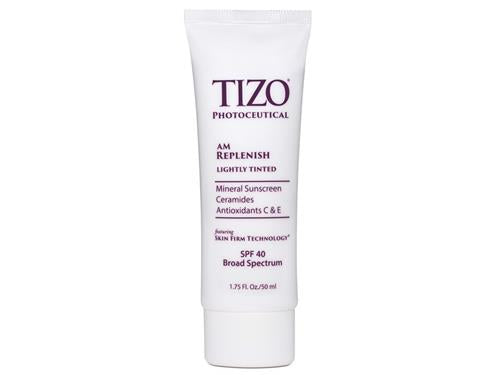 Tizo Photoceutical AM Replenish Mineral Sunscreen Lightly Tinted BS SPF40