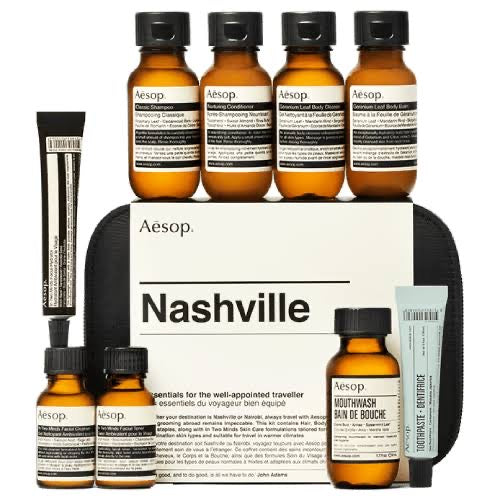 Aesop Nashville Essentials For The Well-Appointed Traveller
