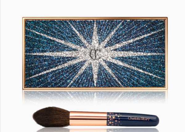 Charlotte Tilbury LIMITED EDITION FILMSTAR BRONZE & GLOW SET HIGHLIGHTER & BRUSH KIT
