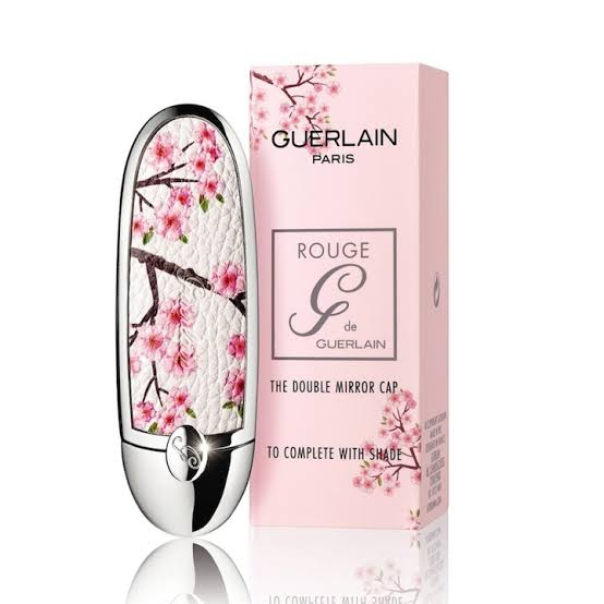 Guerlain Rouge G Customizable Lipstick Case - Fancy Blossom & Simply Cherry