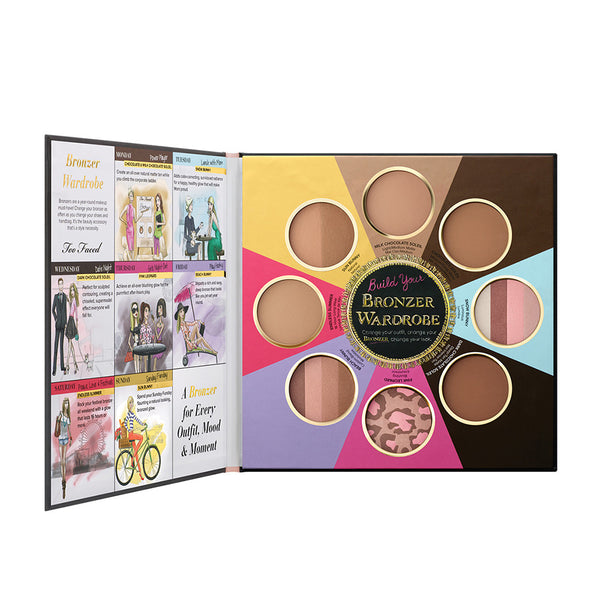 Too Faced The Little Black Book of Bronzers (Limited Edition)